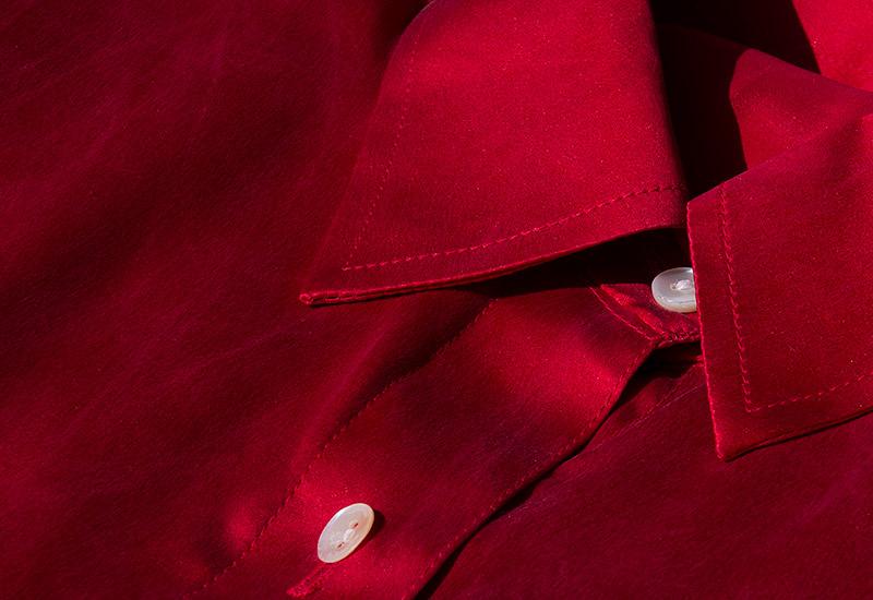 beispiel sorgfalt kragennahte indische seide qualitat fertigung herstellung rosa lia